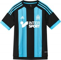 Olympique Marseille 2015-16 Away Soccer Jersey