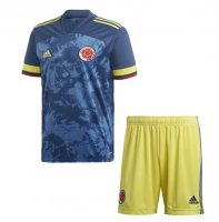 2020 Kids Colombia Away Soccer Kit (Shirt+Shorts)