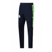 Manchester City 18/19 Training Pants Navy Green