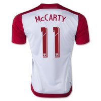 New York Red Bulls 2015-16 Home #11 Mccarty Soccer Jersey