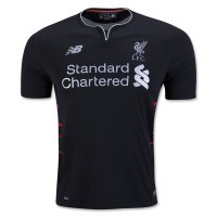 Liverpool 16/17 Black Away Soccer Jersey