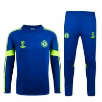 Chelsea 2015-16 Blue Champions Ball Sweater With Pants