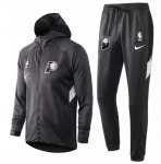 Indiana Pacers 2020/21 Tracksuits Grey Hoodie Jacket and Pants