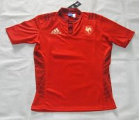 Rugby World Cup 2015 France Red Shirt