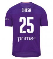 CHIESA #25 Fiorentina 19/20 Home Soccer Jersey