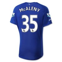 Everton 2015-16 MCALENY #35 Home Soccer Jersey