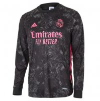 Real Madrid 20/21 3rd Away Long Sleeve Soccer Jersey