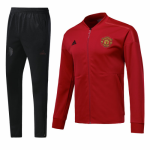 Manchester United 18/19 N98 Jacket Tracksuit Red With Pants
