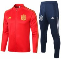 Spain 2020 Euro Tracksuits Red Training Jacket and Pants