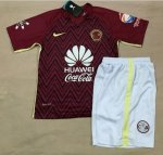 2016-17 Kids Club America Red away Soccer Kit(Shirt+Shorts)