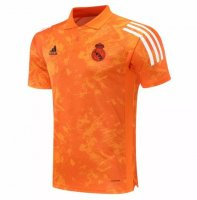 Real Madrid 20/21 Polo Jersey Shirt Orange