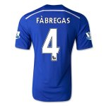 Chelsea 14/15 FABREGAS #4 Home Soccer Jersey