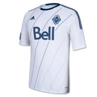2013 Vancouver Whitecaps Home White Soccer Jersey Shirt
