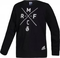 Real Madrid 14/15 Black Sweat shirt