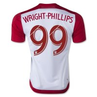 New York Red Bulls 2015-16 Home #99 Wright Phillips Soccer Jersey