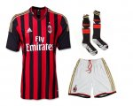 13-14 AC Milan Home Jersey Whole Kit(Shirt+Short+Socks)