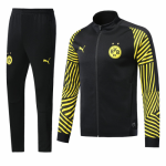 Dortmund 18/19 Training Jacket Tracksuit Black Stripe With Pants