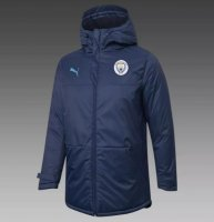 Manchester City 20/21 Winter Cotton Coat Navy