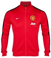 13-14 Manchester United N98 Red Track Jacket