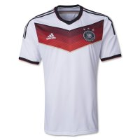 2014 Germany Home White Soccer Jersey Shirt