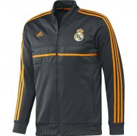 13-14 Real Madrid Black Anthen Jacket