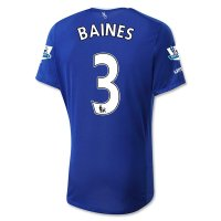 Everton 2015-16 BAINES #3 Home Soccer Jersey