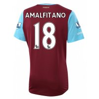 West Ham 2015-16 AMALFITANO #18 Home Soccer Jersey