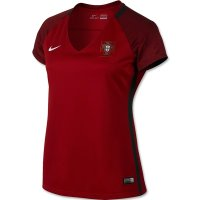 Portugal 2016 Euro Women's Home Soccer Jersey