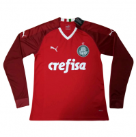 Palmeiras 19/20 Red Goalkeeper Long Sleeve Soccer Jersey Shirt