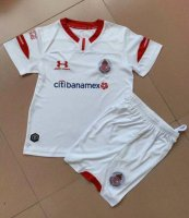 19/20 Kids Deportivo Toluca Away Soccer Kit (Shirt+Shorts)
