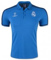 Real Madrid 2015-16 UCL Blue Polo