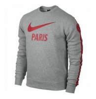 PSG 14/15 Grey Core LS Crew Sweatshirt