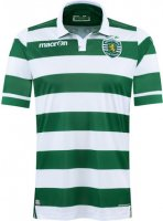 Sporting Clube de Portugal Lisbon 2015-16 Home Soccer Jersey