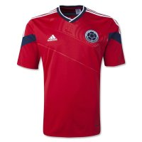 2014 FIFA World Cup Colombia Away Soccer Jersey