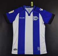 Deportivo Alavés 2017/18 Home Soccer Jersey