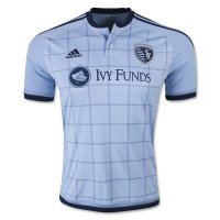 Sporting Kansas City 2015-16 Home Soccer Jersey