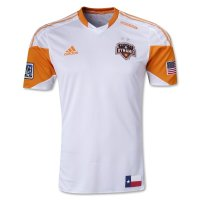 2013 Houston Dynamo Away White Soccer Jersey Shirt