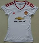 Manchester United 2015-16 Away Soccer Jersey Women