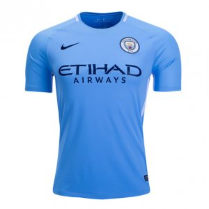Manchester City 2017/18 Home Soccer Jersey