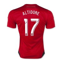 Toronto FC 2015-16 Home Altidore #17 Soccer Jersey