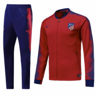 Atletico Madrid 18/19 Training Jacket Top Tracksuit Red With Pants