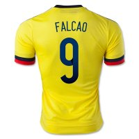 2015 Colombia FALCAO #9 Home Soccer Jersey