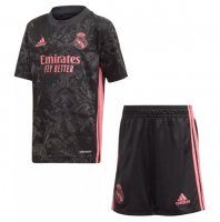 20/21 Kids Real Madrid 3rd Away Soccer Uniforms