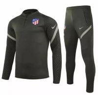 Atletico Madrid 20/21 Tracksuit Grey Training Sweat Top and Pants