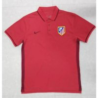 Atletico Madrid 16/17 Red Polo Shirt