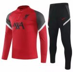 Liverpool 2020/21 Tracksuit Red Training Sweat Top and Pants
