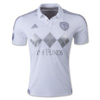 Sporting Kansas City 2015-16 White Soccer Jersey