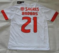 Benfica 2015-16 Barbas #21 Away Soccer Jersey