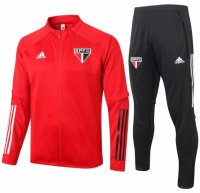 Sao Paulo 20/21 Tracksuits Red Training Jacket and Pants