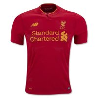 Liverpool 16/17 Home Red Soccer Jersey